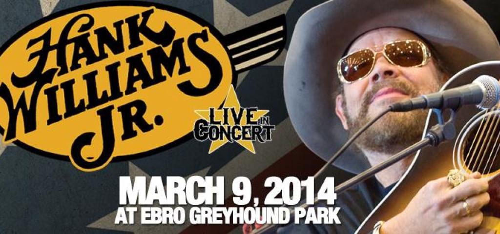 Hank Williams Jr Concert in Ebro