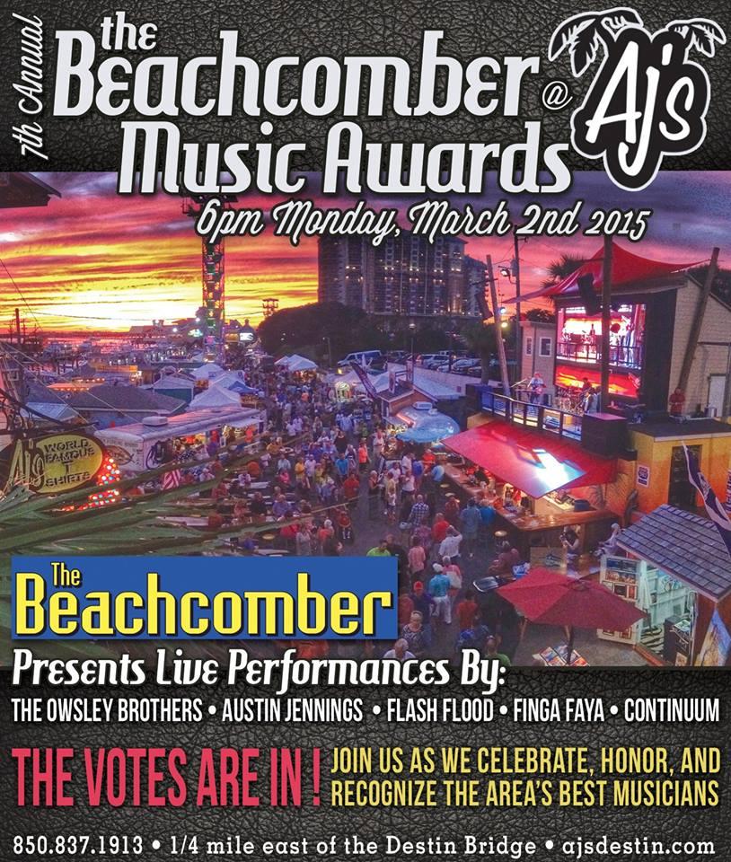 7th Annual Beachcomber Music Awards