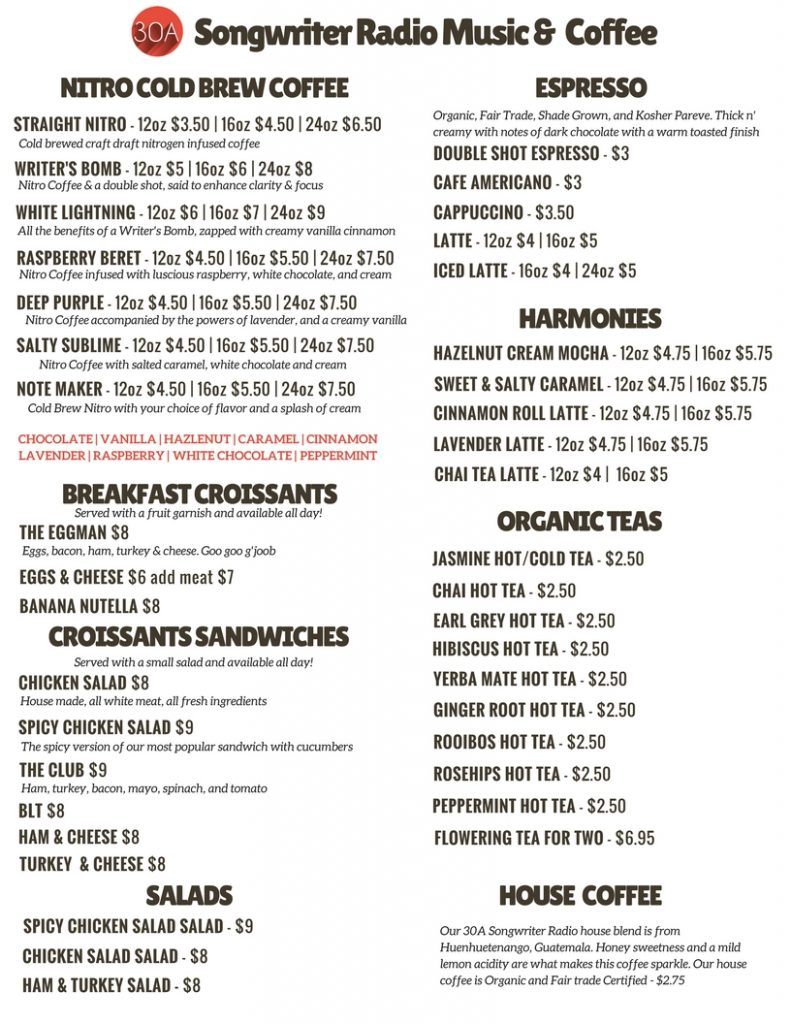 30ASR MENU JANUARY 2018 1