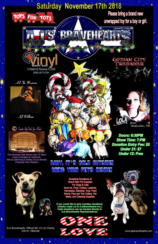 Charity Event Announced at Vinyl Music Hall